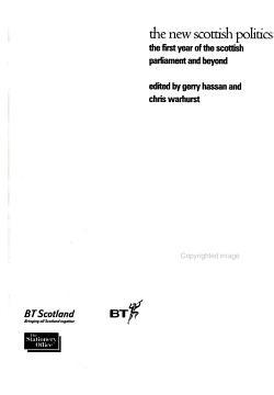 The New Scottish Politics PDF