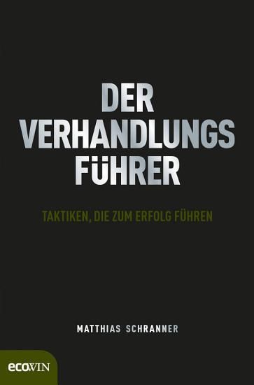 Der Verhandlungsf  hrer PDF