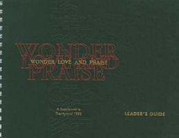 Wonder  Love  and Praise PDF
