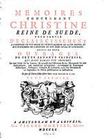 Memoires Concernant Christine Reine de Suede  PDF