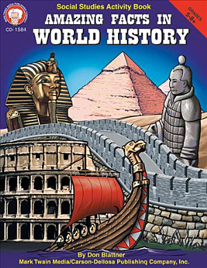 Amazing Facts in World History  Grades 5   8 PDF
