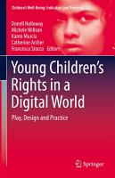 Young Children   s Rights in a Digital World PDF