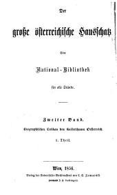 Biographisches lexikon des kaiserthums oesterreich ...
