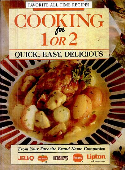 Cooking for One Or Two PDF