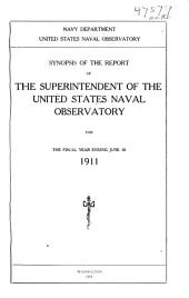 Annual report of the Naval Observatory for the fiscal year ...