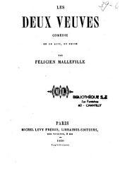 Les deux veuves: comédie en un acte, en prose