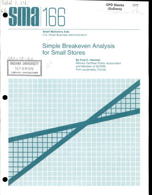 Simple Breakeven Analysis for Small Stores