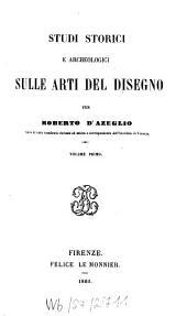 Studi storici e archeologici sulle arti del disegno