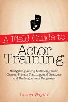 A Field Guide to Actor Training PDF