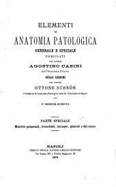 Elementi di anatomia patologica, generale e speciale: Volumi 4-6