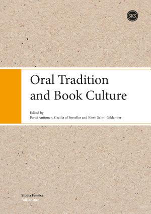 Oral Tradition and Book Culture PDF