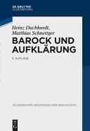 Barock und Aufkl  rung PDF