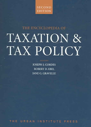 The Encyclopedia of Taxation   Tax Policy PDF