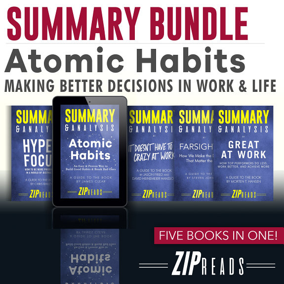 Summary Bundle   Atomic Habits: Making Better Decisions in Work & Life