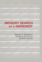 Memory Search By A Memorist PDF
