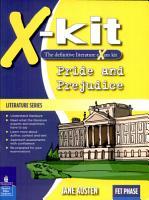 X kit Lit Series Fet pride   Prejudice PDF