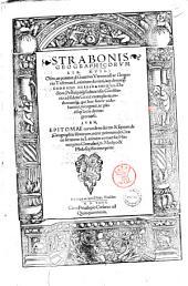 Strabonis Geographicorum lib. 17. Olim, ut putatur, à Guarino Veronensi ac Gregorio Trifernate Latinitate donati, iam denuo à Conrado Heresbachio ll. doctore, ... ad fidem Graeci exemplaris, authorùmque, qui huc facere uidebantur, recogniti, ac plerisque locis deintegro uersi. Item, Epitomae eorundem decem & septem de Geographia librorum, nunc primum de Graeco sermone in Latinum conuersae, Hieronymo Gemusaeo, d. medico & philosopho interprete