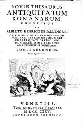 Novus thesaurus antiquitatum romanarum