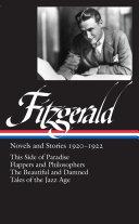 F. Scott Fitzgerald: Novels and Stories 1920-1922 (LOA #117)