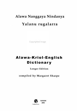 Alawa Nanggaya Nindanya PDF