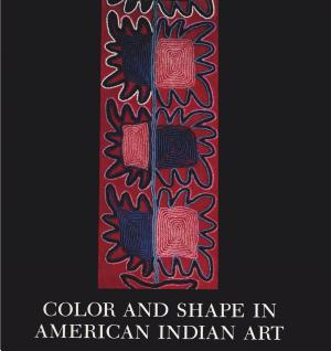 Color and Shape in American Indian Art PDF