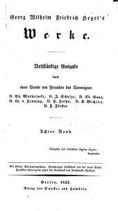 Grundlinien der philosphie des rechts: oder naturrecht und staatswissenshaft im grundrisse