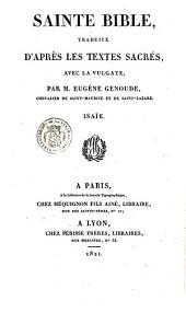 Sainte Bible: en latin et en français