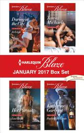 Harlequin Blaze January 2017 Box Set: Daring in the City\Tempting the Best Man\Hot Pursuit\Pushing the Limits