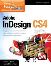How To Do Everything Adobe InDesign CS4