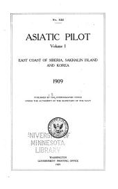 Asiatic Pilot: East coast of Siberia, Sakhalin Island and Korea