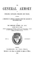 The General Armory of England  Scotland  Ireland  and Wales PDF