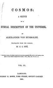 Cosmos: a sketch of a physical description of the universe, Volume 3