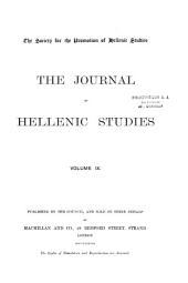 The Journal of Hellenic Studies