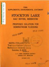Stockton Lake, Sac River, Dredging: Environmental Impact Statement