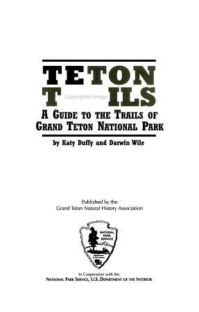 Teton Trails PDF