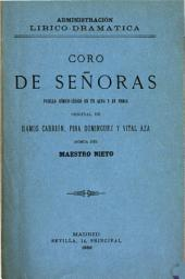 Coro de señoras: pasillo cómico-lírico en un acto y en prosa