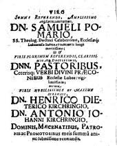 Novatianismum dissertatione historica descriptum