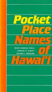 Pocket Place Names of Hawai'i