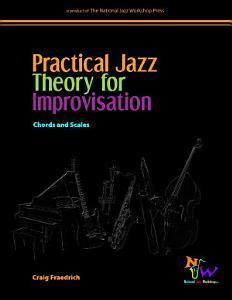 Practical Jazz Theory for Improvisation Book