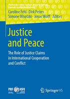 Justice and Peace PDF