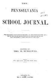 Pennsylvania School Journal: Volume 13