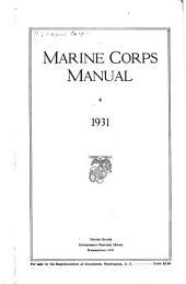 Marine Corps Manual. 1931