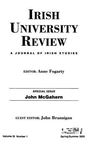 Irish University Review