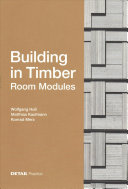 Building in Timber - Room Modules
