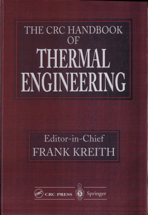 The CRC Handbook of Thermal Engineering PDF
