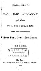 Sadlier s Catholic Almanac and Ordo for the Year of Our Lord     PDF