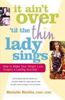 It Ain t Over  till the Thin Lady Sings PDF