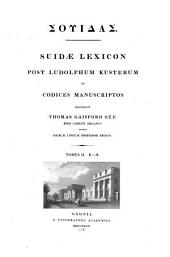 Lexicon: post Ludolphum Kusterum ad codices manuscriptos. K - Psi, Τόμος 2