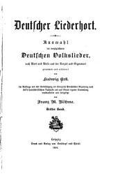 Deutscher liederhort: Band 3