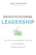 Entrepreneurial Leadership PDF
